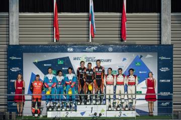 LMP2 Podium at the WEC 6 Hours of Spa - Circuit de Spa-Francorchamps - Spa - Belgium