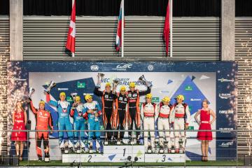 LMP2 Podium at the WEC 6 Hours of Spa - Circuit de Spa-Francorchamps - Spa - Belgium