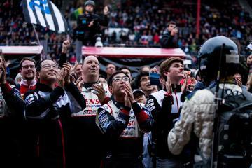TOYOTA GAZOO RACING / JPN / Toyota TS050 - Hybrid - Hybrid -  WEC 6 Hours of Spa - Circuit de Spa-Francorchamps - Spa - Belgium