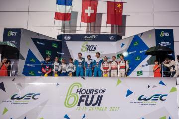 LMP2 Podium - WEC 6 Hours of Fuji - Fuji Speedway - Oyama - Japan