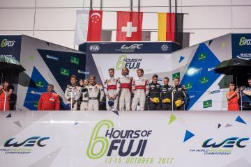 GTE-AM Podium - WEC 6 Hours of Fuji - Fuji Speedway - Oyama - Japan