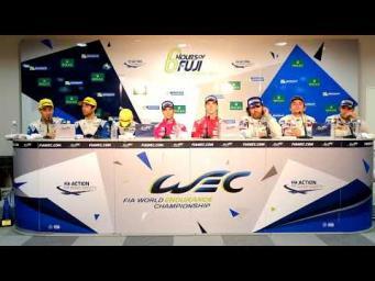 2017 WEC 6 Hours of Fuji - Class Winners Press Conference