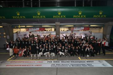 Porsche Team Winner Manufacturer 2017
