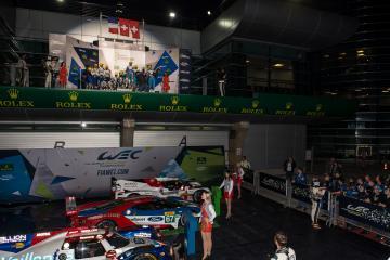 LMP2 Podium - WEC 6 Hours of Shanghai - Shanghai International Circuit - Shanghai - China