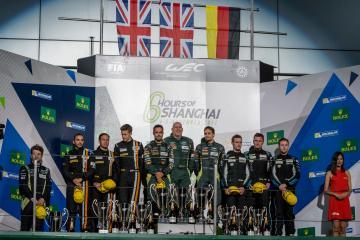 LMGTE AM Podium - WEC 6 Hours of Shanghai - Shanghai International Circuit - Shanghai - China