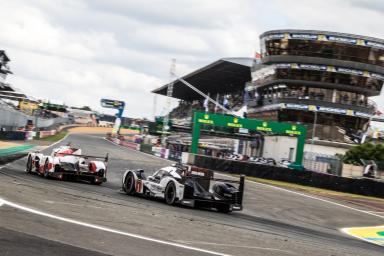 #1 PORSCHE TEAM (DEU) / MICHELIN / PORSCHE 919 HYBRID / Timo BERNHARD (DEU) / Mark WEBBER (AUS) / Brendon HARTLEY (NZL)Le Mans 24 Hour - Circuit des 24H du Mans  - Le Mans - France