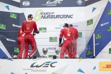 Podium WEC 6 Hours of Nurburgring - Nurburgring - Nurburg - Germany