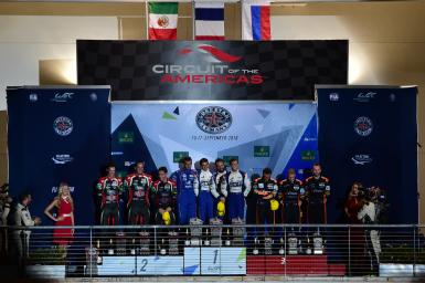 LMP2 Podium at the WEC 6 Hours of Circuit of the Americas - Circuit of the Americas - Austin - America -