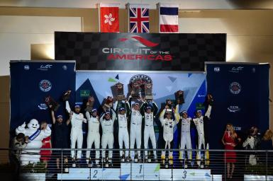 GTE Am Podium at the WEC 6 Hours of Circuit of the Americas - Circuit of the Americas - Austin - America -