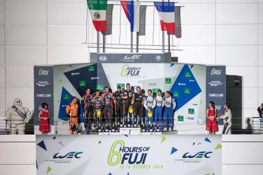 Podium at the WEC 6 Hours of Fuji - Fuji Speedway - Oyama - Japan