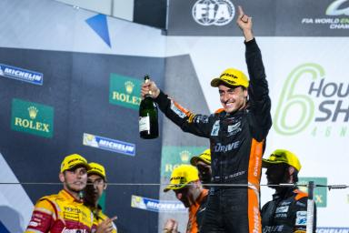 Podium at the  WEC 6 Hours of Shanghai - Shanghai International Circuit - Shanghai - China