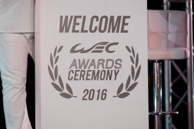 The WEC Award Ceremony in Bahrain