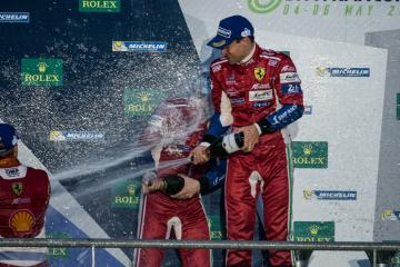 Alessandro Pier Guidi (ITA) - at the GTE PRO Podium at the WEC 6 Hours of Spa - Circuit de Spa-Francorchamps - Spa - Belgium