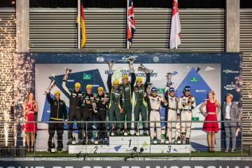 GTE AM Podium at the WEC 6 Hours of Spa - Circuit de Spa-Francorchamps - Spa - Belgium