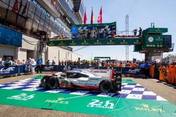 #2 PORSCHE TEAM / DEU / Porsche 919 Hybrid - Hybrid - Le Mans 24h  - Circuit des 24H du Mans  - Le Mans - France