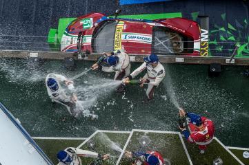 GTE Pro Podium Champagne WEC 6 Hours of Nurburgring - Nurburgring - Nurburg - Germany