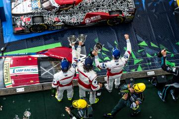 GTE-AM Podium  SPIRIT OF RACE / CHE / Thomas Flohr (CHE) / Francesco Castellacci (ITA) / Miguel Molina (ESP) - WEC 6 Hours of Nurburgring - Nurburgring - Nurburg - Germany
