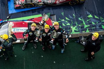 GTE-AM Podium #77 DEMPSEY-PROTON RACING / DEU / Christian Ried (DEU) / Matteo Cairoli (ITA) / Marvin Dienst (DEU) - WEC 6 Hours of Nurburgring - Nurburgring - Nurburg - Germany