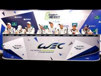 2017 6 Hours of Mexico - Post Race Conference Race Winners