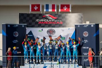 LMP2 Podium at the WEC 6 Hours of Circuit of the Americas - Circuit of the Americas - Austin - United States of America