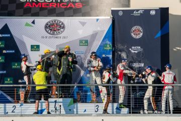 LM-GTE-AM Podium at the WEC 6 Hours of Circuit of the Americas - Circuit of the Americas - Austin - United States of America