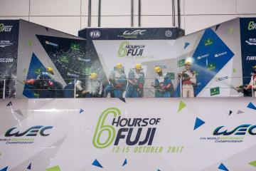 LMP2 Podium - WEC 6 Hours of Fuji - Fuji Speedway - Oyama - Japan