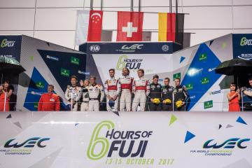 GTE-AM Podium - WEC 6 Hours of Fuji - Fuji Speedway - Oyama - Japan