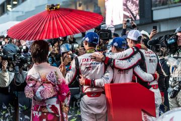 #8 TOYOTA GAZOO RACING / JPN / Toyota TS050 - Hybrid - Hybrid / Sebastien Buemi (CHE) / Anthony Davidson (GBR) / Kazuki Nakajima (JPN) - WEC 6 Hours of Fuji - Fuji Speedway - Oyama - Japan