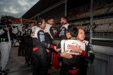 Toyota Mechanics celebrating - WEC 6 Hours of Shanghai - Shanghai International Circuit - Shanghai - China