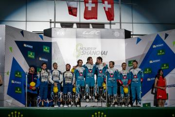 LMP2 Podium - WEC 6 Hours of Shanghai - Shanghai International Circuit - Shanghai - China