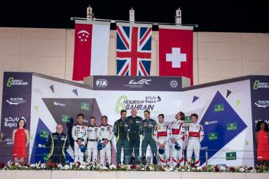 LMGTE AM Podium -